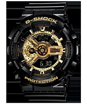 G-SHOCK ブラックxゴールドシリーズ GA-110GB-1AJF